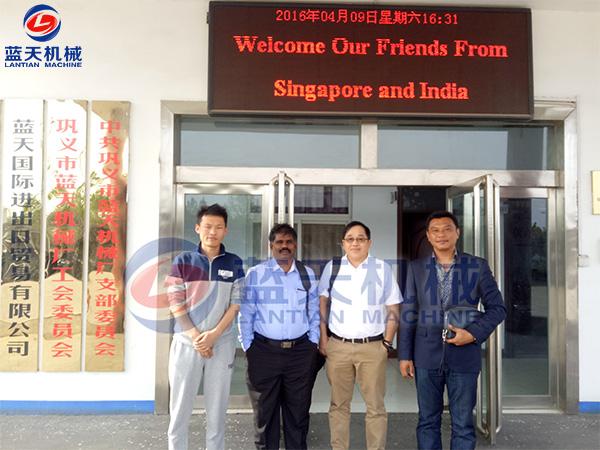 新加坡和印度客户