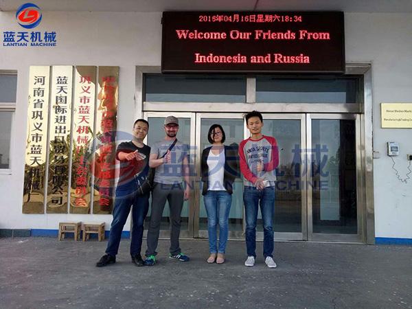 印度尼西亚和俄罗斯客户