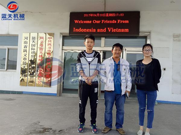 印尼和越南客户