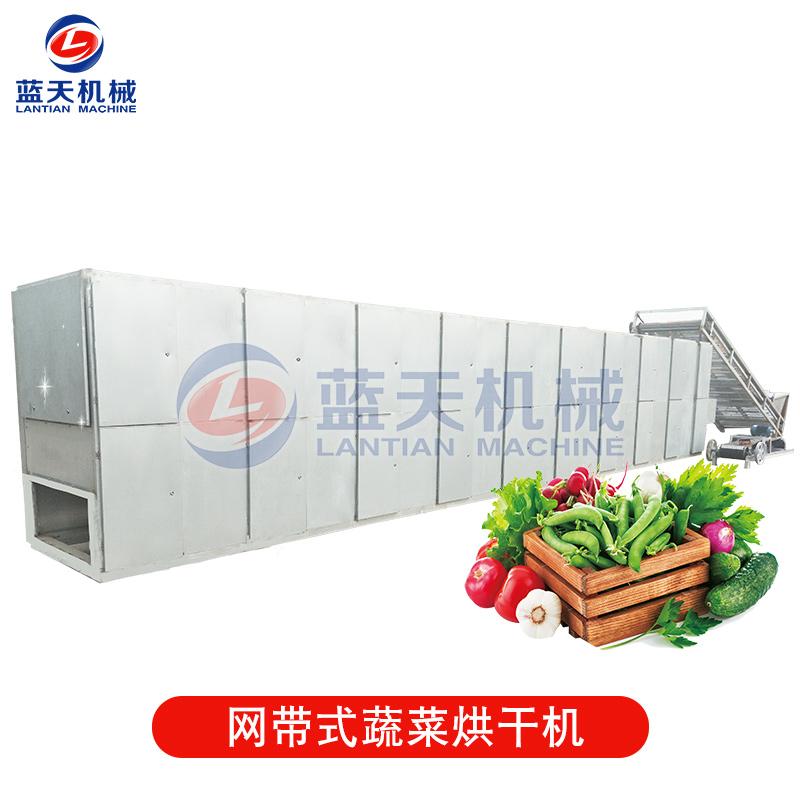 网带式蔬菜烘干机