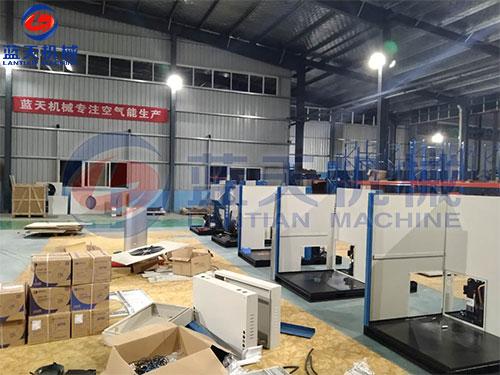 东莞热泵烘干机生产现场